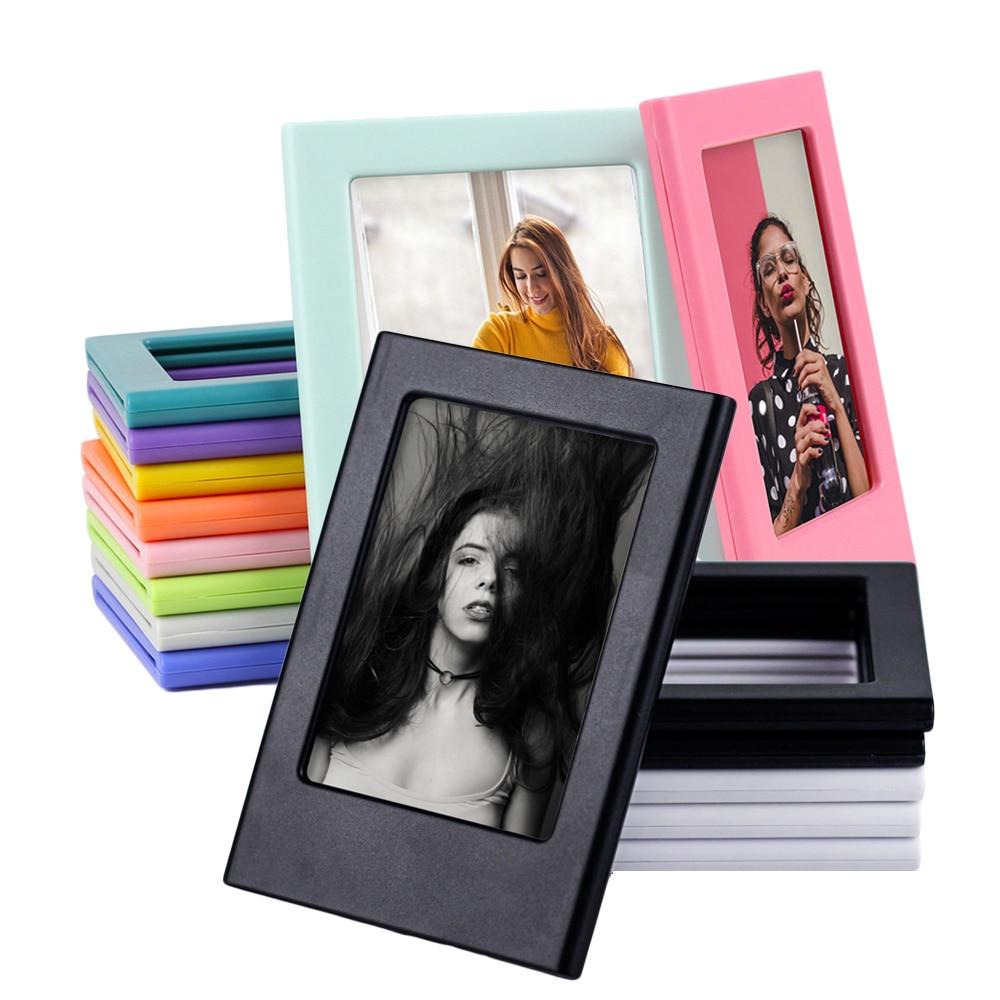 Магнитные фоторамки для Fujifilm Instax Mini Film Papers, двухсторонняя фоторамка на холодильник, магниты для детских фоторамок
