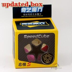 Image 5 - Magie cube puzzle QiYi XMD QiHeng S megaminxeds megamin x stickerless professionelle dodekaeder 12 seiten geschwindigkeit cube spielzeug spiel