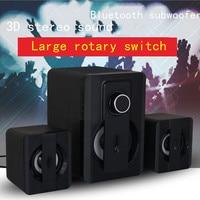 Bluetooth Speaker Subwoofer Laptop Speaker Stereo Woofer Music Center Home Theater Sound System Caixa De Som Boombox F4052B