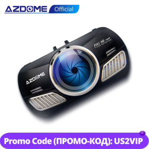 Image 1 - AZDOME M11 Dash Cam 3 inch 2.5D IPS Screen Full HD1080P Car Camera DVR Dual Lens Night Vision 24H Parking Monitor Dashcam GPS
