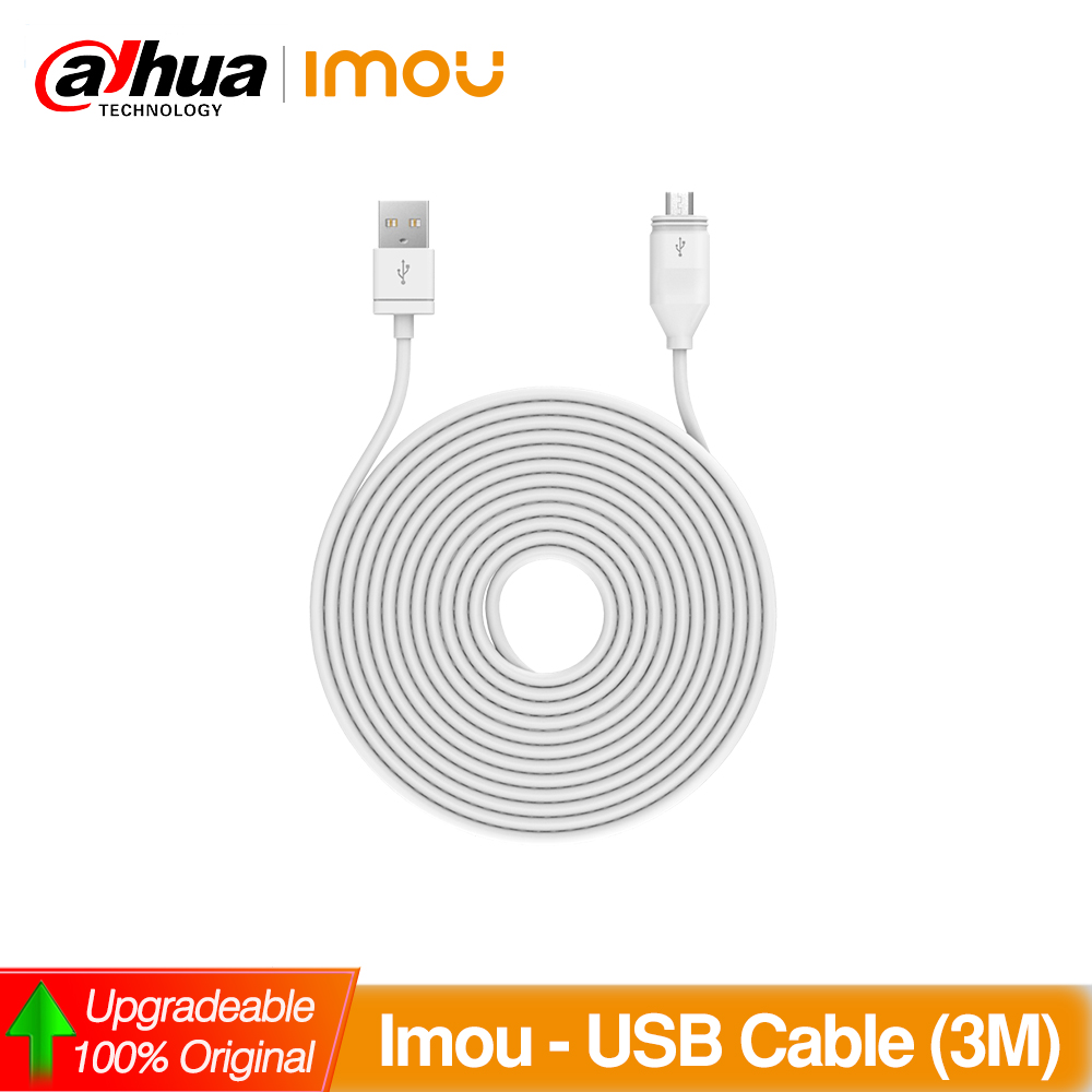 Dahua Imou USB Waterproof Charging Cable FWC10 Waterproof Charging Cable For Cell Pro