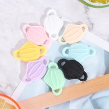 Charms Earing-Accessory Jewelry-Findings-Making Cute Pendant for Diy 10pcs Simulation-Mask
