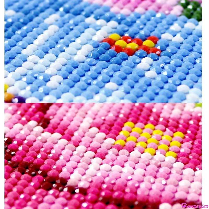 יהלומי ציור מלא כיכר דיסנילנד זוגות פרק טירת ציור מגדל מחורר מכותנת דיאמנט Plein, תמונה על ידי Rhinestones חדש שנה