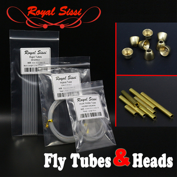 Royal Sissi salmon&stealhead tube fly tying materials fly tying plastic tubes brass tubes coneheads tube fly fishing accessories image