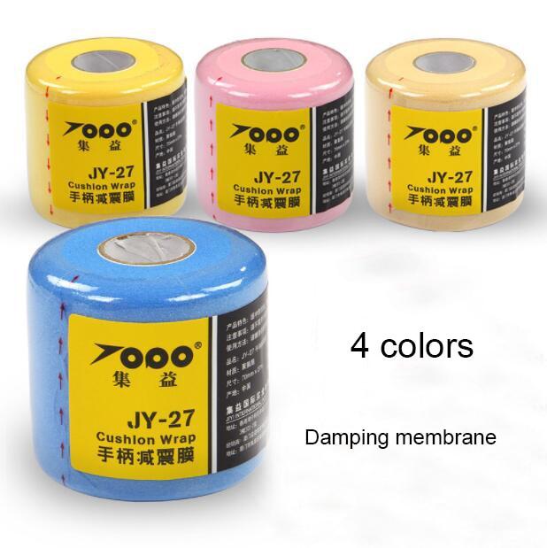 1pc Retail TOPO Badminton Grip Rubber Handle, Backing Film,cushion Wrap, Shock Absorbing Film, Balance Handle Thickness