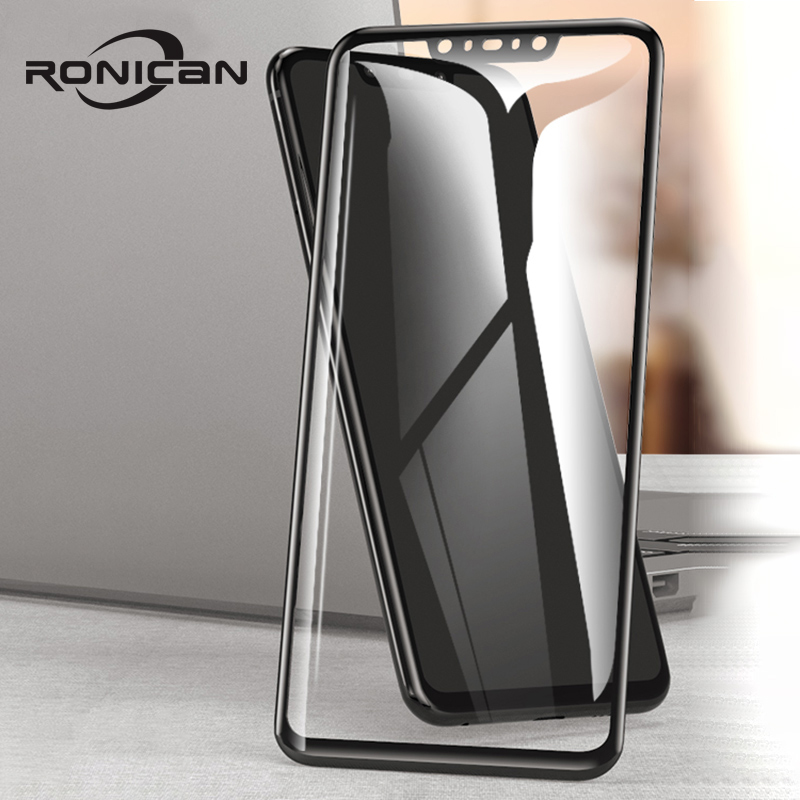 RONICAN 3D Protective Glass For Huawei Nova 3 3i 2 2i Full Cover Tempered Glass For Huawei Nova 4 P Smart Plus Screen Protector