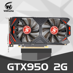 Video Card Original gtx 950 2GB 128Bit GDDR5 Graphics Card for nVIDIA Geforce GTX 950 Hdmi Dvi Card