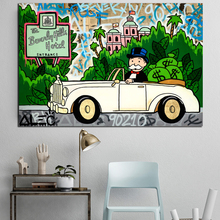 Rolls Hills Hotel Alec Monopolyingly Poster Painting On Canvas Bedroom Wall Art Decoration Pictures Home Decor