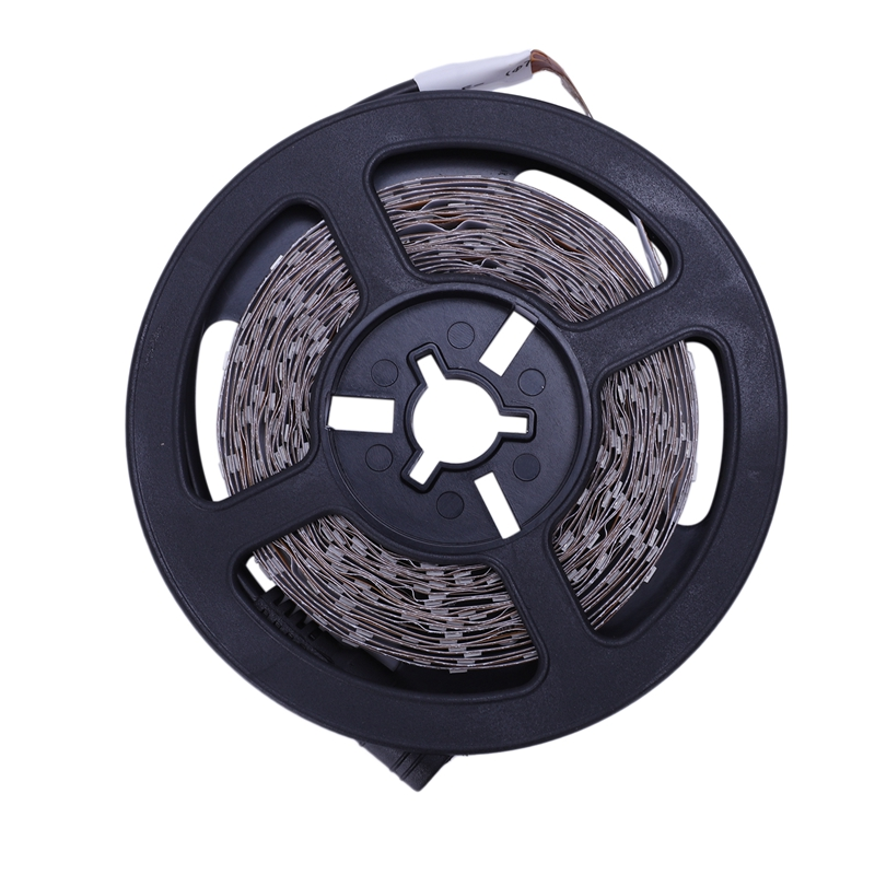 5M LED Strip, SMD 3528 With 300 LEDs, Cold White 6000K, DC 12V, Non Waterproof, Flexible LED Strip Fairy Lights Tape, Perfect Fo