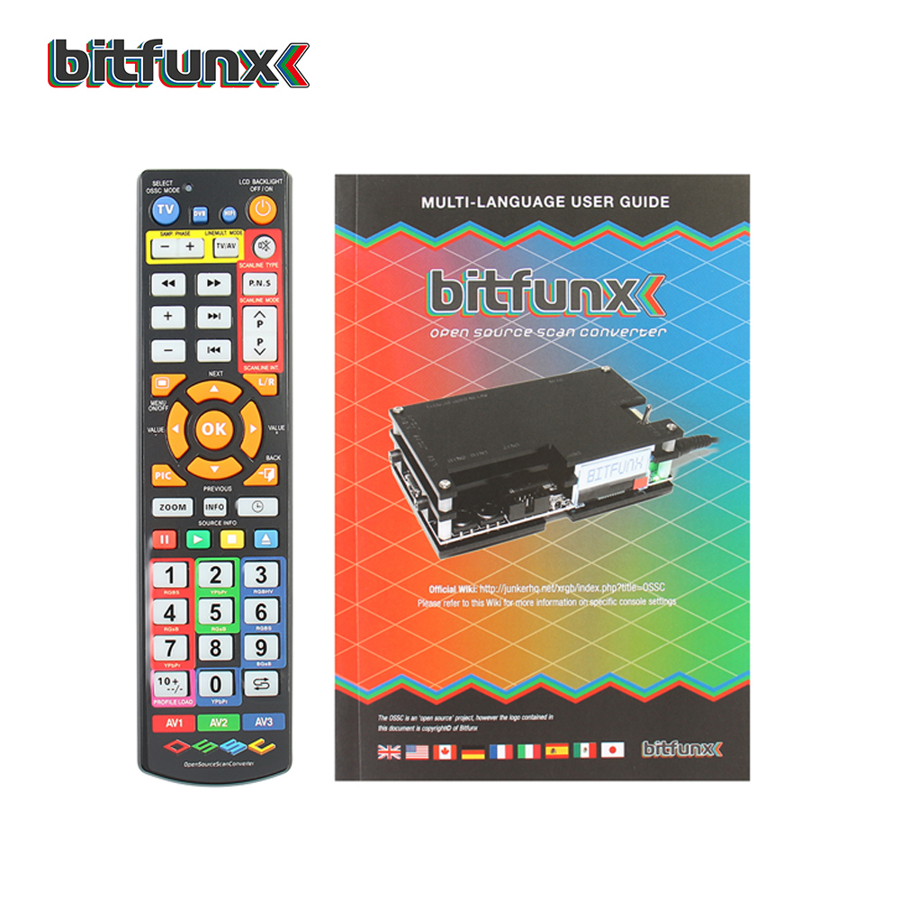 Bitfunx OSSC HDMI Converter Kit for Retro Game Console New Package update Kit