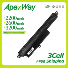 Apexway Battery A31LMH2 A31N1302 Battery For ASUS For VivoBook X200CA X200MA X200M X200LA F200CA 200CA 11.6 A31LMH2 A31LM9H настольная лампа crystal lux emilia lg1