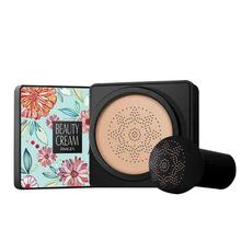 Korean Mushroom Head BB Air Cushion Foundation CC Cream Concealer Whitening Makeup