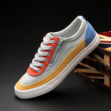New Fashion Wear-resistant men Sneaker Flats Shoes Boy / Male Casual Ca