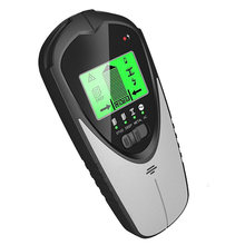 4 em 1 backlit parede scanner stud finder centro feixe sensor display lcd portátil fio para madeira eletrônico joist detecção