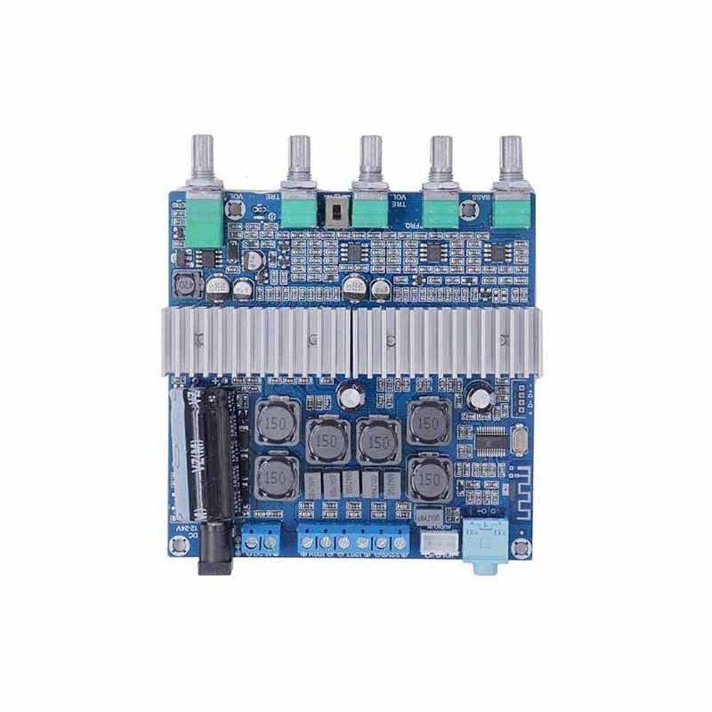 Volume Amplifier Board Audio DC 12 24V Transmission Radio Digital 2.1 TPA3116D2 Output Bluetooth 4.2