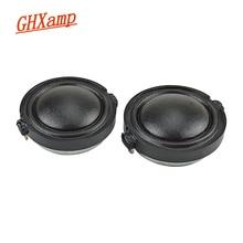 GHXAMP 1 Inch 30mm Silk Film Tweeter Speaker Unit Thin Section Treble Loudspeaker High Pitch Horn Core 8Ohms 20W 2Pcs