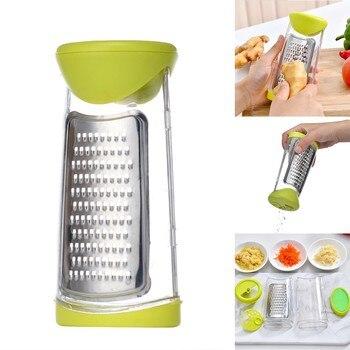 Cocina Manual extraíble y lavable, jengibre, ajo, especias, Ginder con accesorios de...
