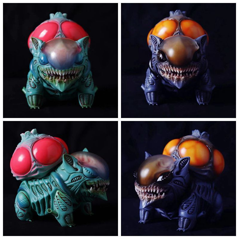 Creative Bulbasaur Alien Action Figure Model Toys Anime Cartoon Dolls Kawaii Toys