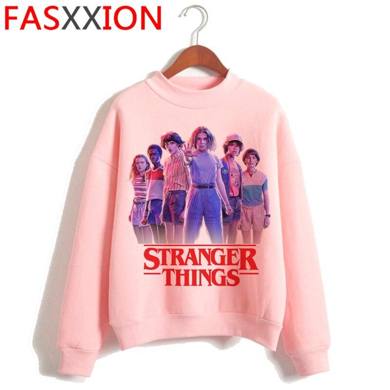 Stranger Things Eleven Harajuku Funny Cartoon Hoodie Women Upside Down Ullang Sweatshirts Friends Don't Lie Graphic Hoody Female
