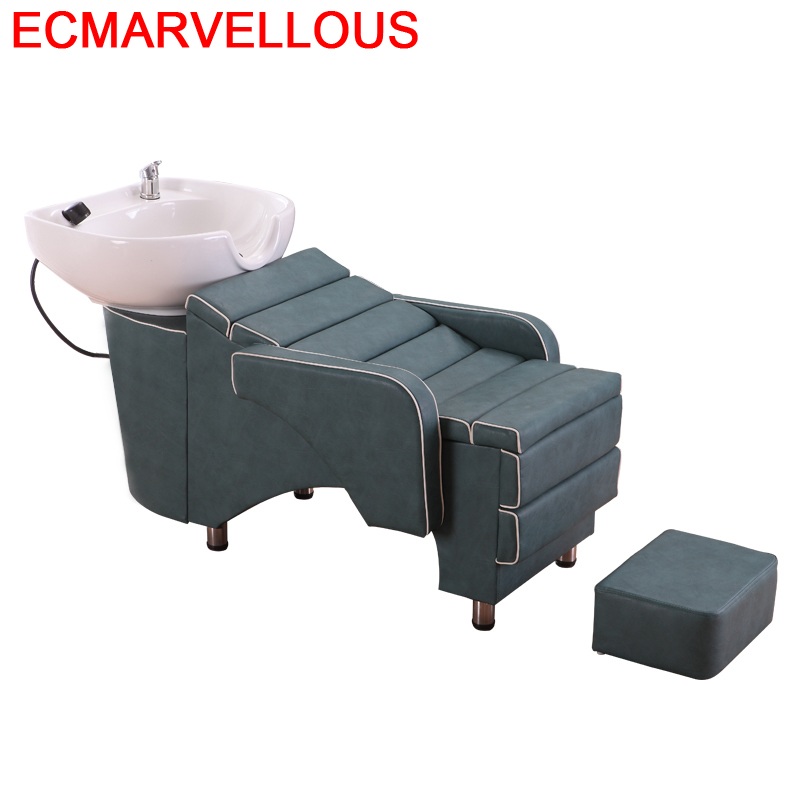 De Belleza Bed Makeup For Beauty Lavacabezas Barber Shop Hair Furniture Salon Cadeira Maquiagem Silla Peluqueria Shampoo Chair
