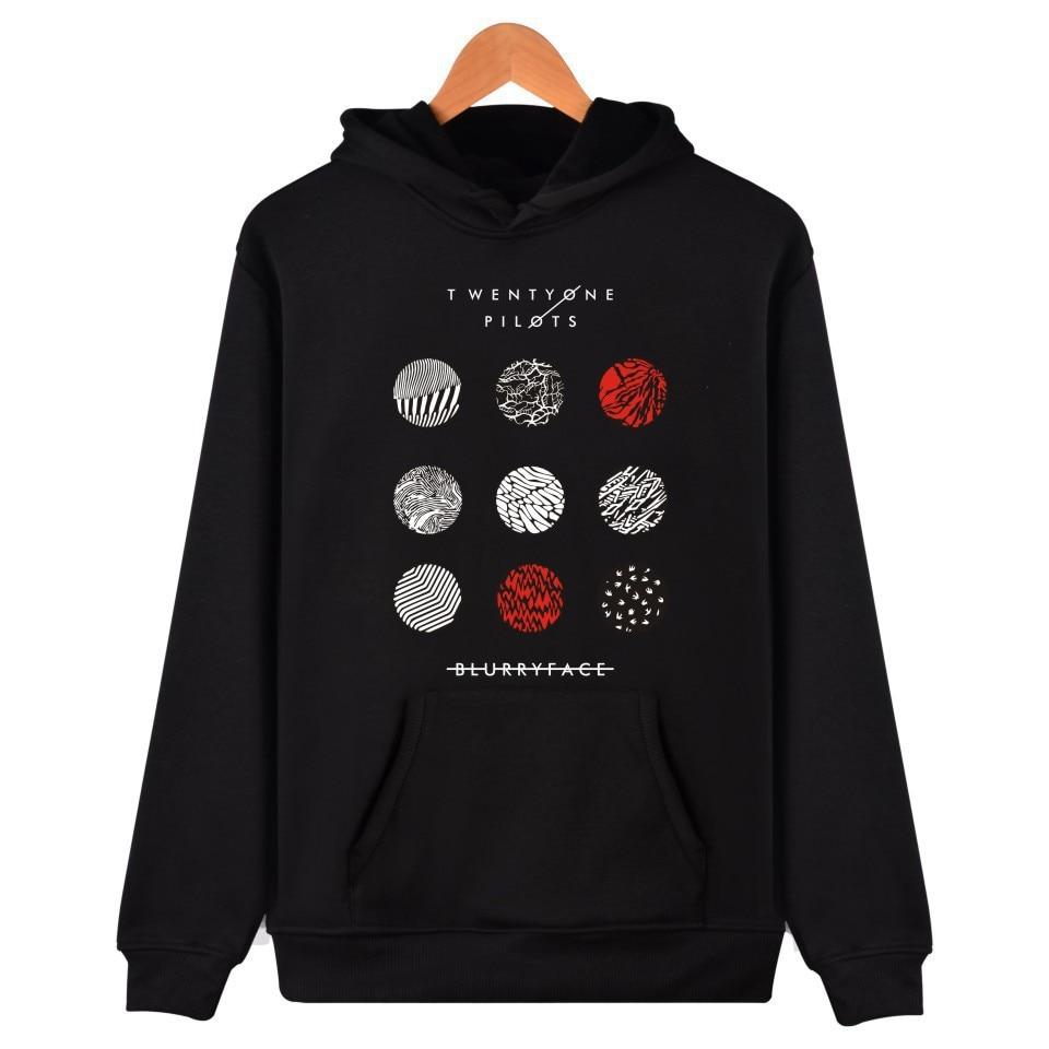 Twenty One Pilots Hoodies Fashion Casual Men Women Hoodie Streetwear Vogue Sweatshirts Band Memorial Hoody Classic Basics Hoodie