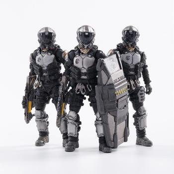 1/18 JOYTOY Action Figures (3PCS/Set)  Starhawk 7th Army Blackhawk Fleet Military Soldier Figure Model Toys Collection Toy 1 6 scale movable 3 style 12 swat black uniform military army combat game toys soldier set action figure model toys