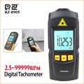RZ tacómetro de mano tacómetro Digital electrónico Mini tacómetro láser Rpm Portabel 2,5-99999 rpm tacómetro láser