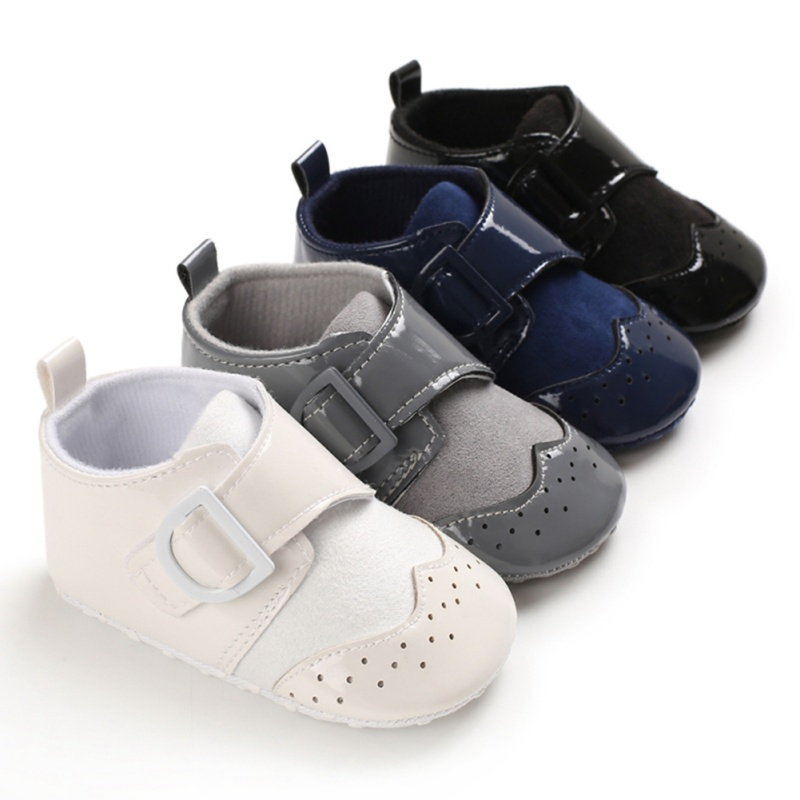 Baby Boy Girl Spring And Autumn Solid Color Sneakers Toddler Anti-slip Casual Soft Soled Cotton Walk Shoes Baby First Walkers