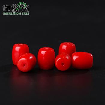 10 sztuk partia 4*6mm 6*8mm czerwony koral baryłkę koraliki Handmade dla naszyjnik bransoletki akcesoria DIY biżuteria komponenty zadatki 18173 tanie i dobre opinie Impression Tree CN (pochodzenie) NONE CORAL Barrel Shape 12mm 0 2 0 54 1 2 1 98g Moda Jewelry Making Jewelry Maker DIYer Designer