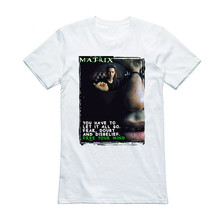 The Matrix Vintage 90S Movie T Shirt Tee Tshirt Neo Film Gift - 100% Organic Homme Plus Size Tee Shirt(China)
