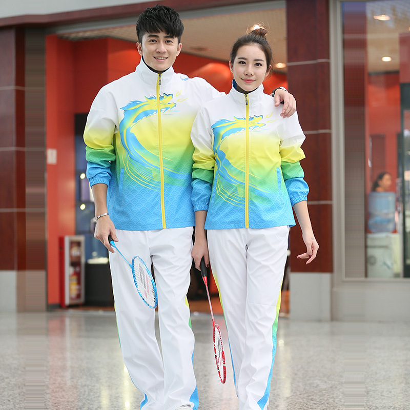 Sports Set 2019 New Style Women's Spring And Autumn Casual Team Sports Clothing Men's Autumn Groups Activity School Uniform Coup