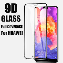 9D Tempered Glass For Huawei Nova 5 Pro 5i Screen Protector Cover For Huawei Honor Mate 30 20 lite P smart 2019 Protective Glass(China)