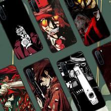 Hellsing Alucard Fan Anime telefon kılıfları için Huawei onur Mate P 10 20 30 40 Pro 10i 9 10 20 8 x Lite lüks marka kabuk funda