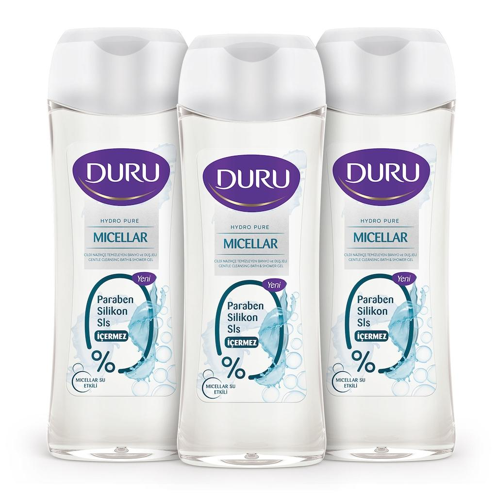 Duru Micellar H2o Shower Gel 3x450ml Curing Cough And Facilitating Expectoration And Relieving Hoarseness