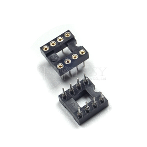 Image 4 - 20pcs DIP 8 Round Hole 8 Pins 2.54MM DIP DIP8 IC Sockets Adaptor Solder Type 8 PIN IC Connector