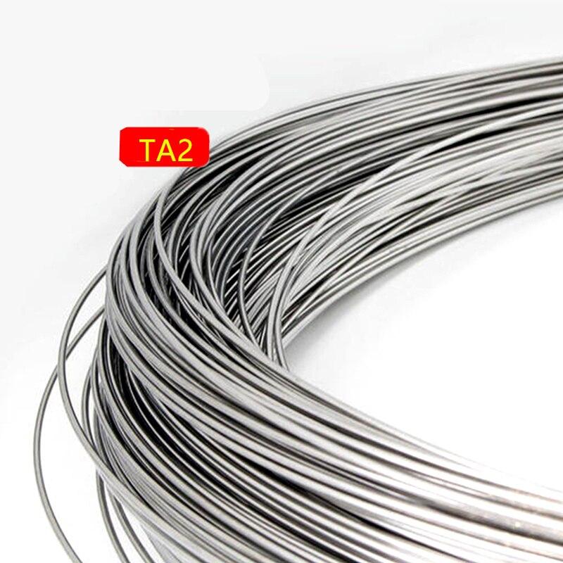 Titanium Diameter 0.3MM 0.5MM 1MM 1.2MM 2MM 3MM 4MM 5MM Tig Welding Rods Pure Titanium Rod Welding Rod Titanium Tig Wire