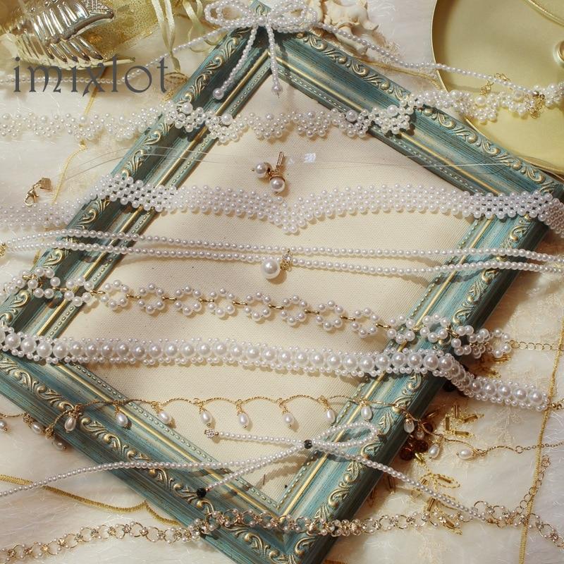 2020 Kpop Double layer Chain Gold fashion Choker cute romantic women pearl pendant necklace girl jewelry Collar Free shipping