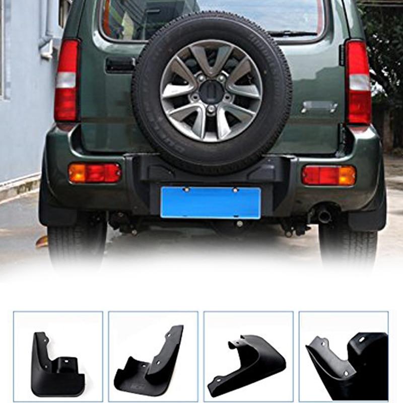 Защитные Брызговики для автомобиля, декоративные Брызговики, автомобильные аксессуары для Suzuki Jimny 2007-2017