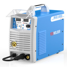 Yeswelder Mig200 200a Gasless And Mig Mag Wire Semi-automatic Weld Semiautomatic Device For Welding Inverter Machine 3 In 1