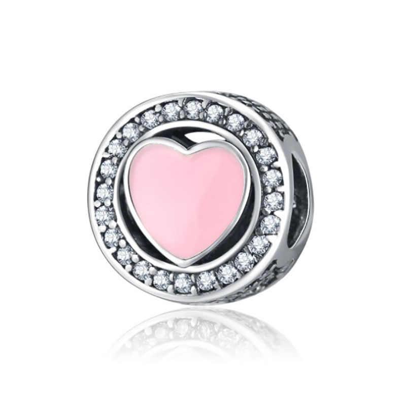 Fit Pulsera Pandora Charms Plata De Ley เงิน 925 สร้อยข้อมือลูกปัดเครื่องประดับ Perles Pour พจนานุกรมการผลิต De Bijoux Charm