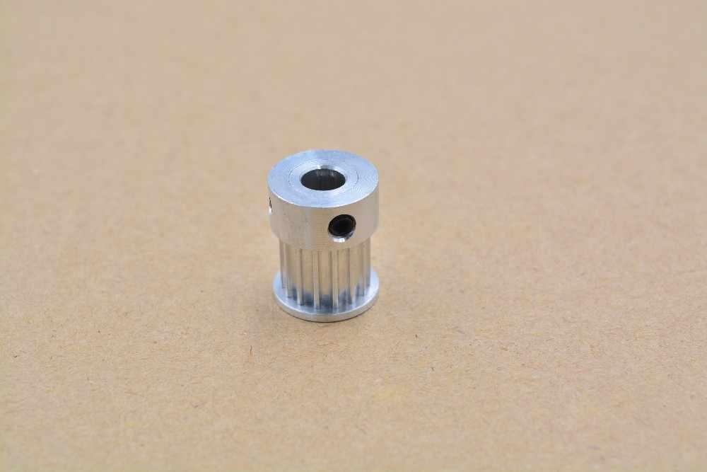 O tipo de k 15 dentes 3m que cronometram o furo da polia 4mm 5mm 6mm 6.35mm 8mm para a correia de htd usada na polia linear 15 dentes 15 t