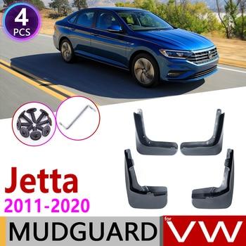 Для Volkswagen VW Jetta A6 A7 5C6 Mk6 MK7 6 7 2011 ~ 2020 крыло грязи брызговик ЛОСКУТ аксессуары для брызговиков 2012 2015 2018 2019