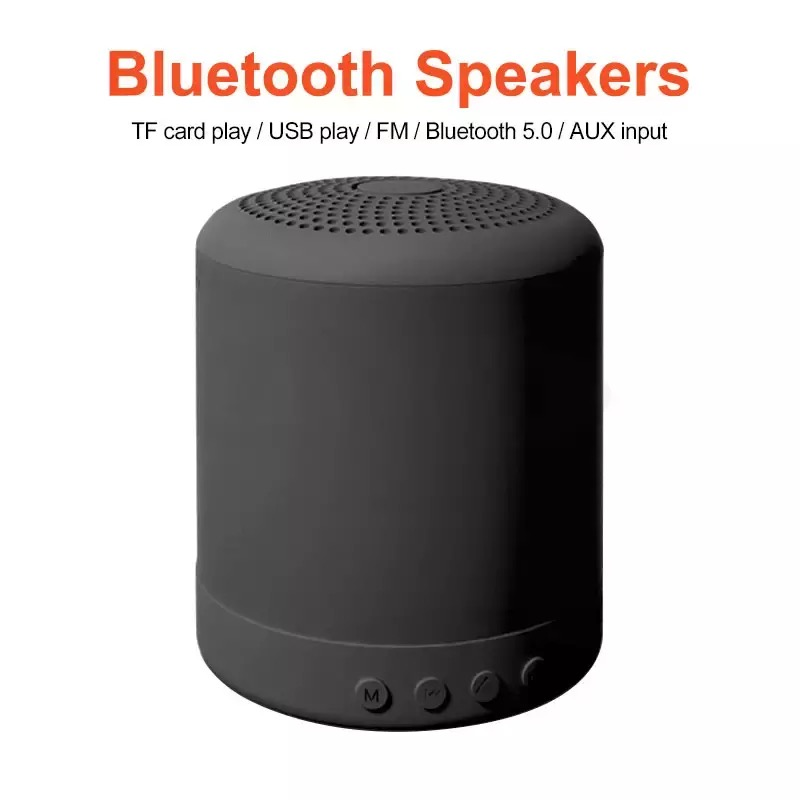 portable Bluetooth Speakers Wireless Mini  small sound box  TF card for Column Bass Outdoor Speaker box subwoofer ribbon tweeter