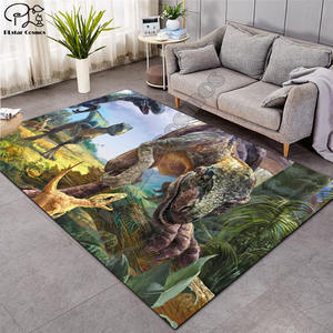 Dinosaur Carpet Living-Room Play-Mat Bedroom Large Nordic Kids 3D Cartoon Sofa 005 Parlor