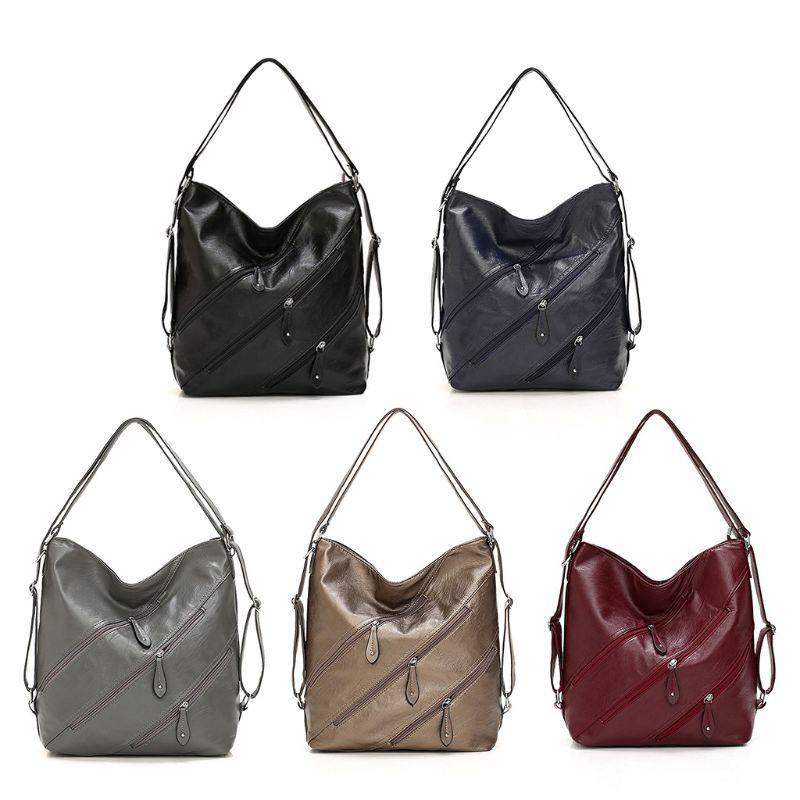 3 In 1 Women Multifunctional Backpack Travel Convertible Hand Bag Lady Casual Portable Shoulder Pocket Female Travel Rucksack