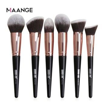 MAANGE 1 Pcs Large Foundation Makeup Brushes Soft Hair Blush Powder Concealer Make Up Brush Face Beauty Cosmetic Tools 1