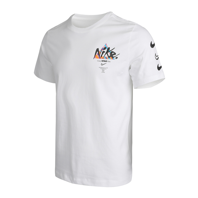 Original New Arrival NIKE M NSW TEE WILD JDI LBR Men s T shirts short sleeve