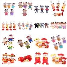 Plush-Toys Cattle Chinese Zodiac Ox Stuffed Birthday-Gift Kids Children Cute for Cow-Mascot