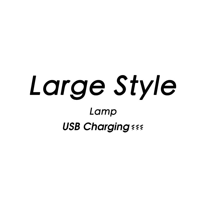 New Design Rechargeable Large Lamp For Store Partner