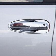 Chrome Door Handle Cover Trim for Toyota Land Cruiser Prado 150 2010 2012 2013 2014 2015 2016 2017 2018 2019 2020 Accessories